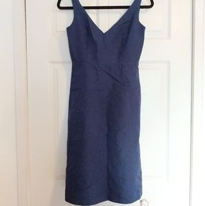 J. Crew navy mini dress
